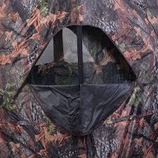 ground hunting blind portable deer pop up camo hunter hunting