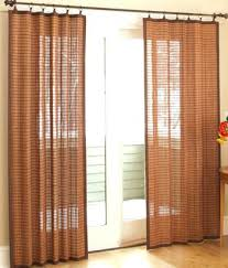 Glass Door Curtains Curtains For A Sliding Glass Door Kitchen Sliding Door Curtains