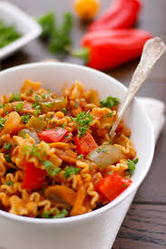 Mexican Pasta Salad Spicy Mexican Pasta Bowl Anna Banana