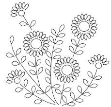 Flower Designs For Embroidery Best 25 Flower Embroidery Designs Ideas On Pinterest Jacobean