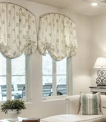 carefree solution to arched window treatments curtains