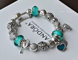 caribbean tropical blue pandora jewelry bracelets