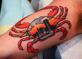 blue crab tattoo design ideas picture tattooimages biz