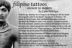 baybayin alive filipino tattoos ancient to modern by lane