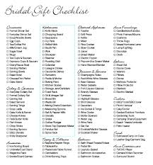 items for a wedding registry wedding gift registry list printable mini bridal