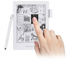 paper writing tablet noteslate noteslate shiro the first pure handwriting device experience the genuine fresh archetype interface similar to classic pencil and paper discover the potential of an enhanced handwriting interface