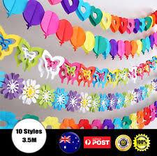 Pom Pom Decorations Paper Pom Poms Balloons Decorations Ebay
