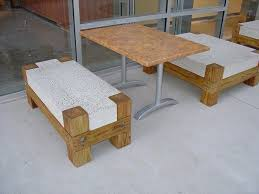 Design Outdoor Furniture by Best 25 Concrete Outdoor Furniture Ideas Only On Pinterest