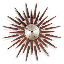 wall clocks buy newgate clocks the pluto starburst wall clock large amara