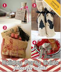 homemade christmas party favors