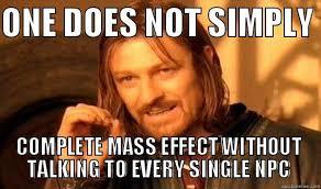 Mass Effect Meme - mass effect meme by peenz on deviantart