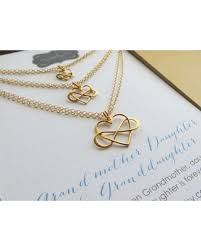 granddaughter jewelry get the deal three generations jewelry set of 3 infinity heart