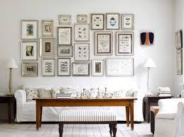 living room wall decor ideas standing lamp white modern sofa
