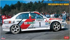 mitsubishi 1997 hasegawa 20310 mitsubishi lancer evolution iv 1997 catalunya rally