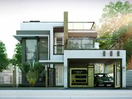 modern homes floor plans two storey house plans eplans