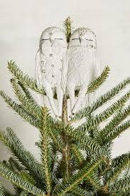 owl couplet tree topper anthropologie