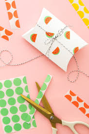 thanksgiving stationery paper diy office label watermelon stickers tutorials box and gift