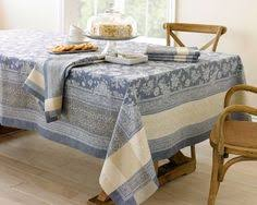 Williams Sonoma Table Linens - french country style tablecloth unique bohemian linens indian