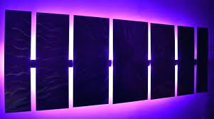 lighted pictures wall decor lighted wall decoration lighted wall panel dining room ideas home