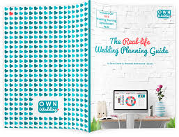 free wedding planner book the real wedding planning guide own your wedding