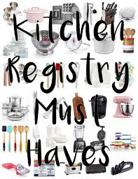 only wedding registry wedding registry 101 the only kitchen registry you ll need