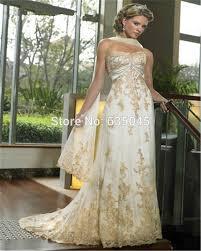 ivory and gold wedding dresses luxury brides