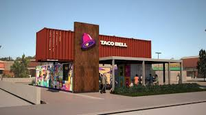 world u0027s first taco bell in a shipping container coming to southern