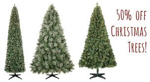 christmas tree on sale 50 christmas trees at target free shipping coupon closet