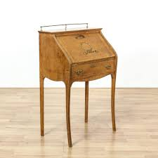 Antique Desk Secretary by Antique Oak Drop Front Secretary Desk Decorative Desk Decoration
