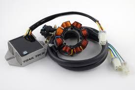trail tech 70 watt high output dc electrical system for honda