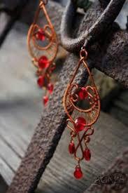 Red Chandelier Earrings Chandelier Earrings Ideas Craft Ideas On Chandelier Earrings