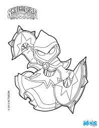 star strike coloring page from skylanders swap force more
