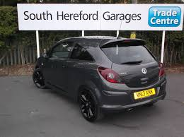 vauxhall grey used 2013 vauxhall corsa limited edition for sale in herefordshire