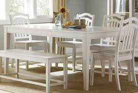 Dining Room Furniture With Bench White Kitchen Table With Bench Interior Design