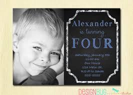 birthday baby boy invitation 1 2 3 4 5 year old 1st