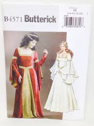 butterick halloween costumes uncut plus sized historical butterick halloween costume sewing