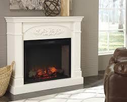 ashley furniture w600 220 boddew cream traditional fireplace