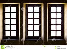 the european retro style old windows stock image image 32815301