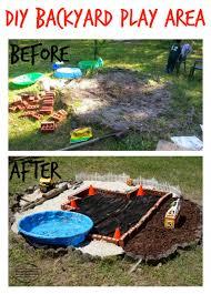 diy backyard play area backyard barbecue bloghop u2013 discovering