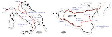 Map Italy Silhouettes Italian Cities by From Venice To Mt Etna My Long Drive Through Italy A Maverick