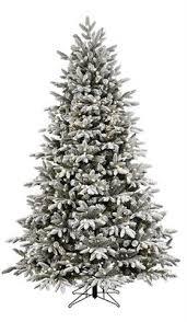 ge 7 5 ft pre lit aspen fir slim artificial christmas tree white