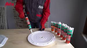 Ceiling Tile Adhesive by Insulation Decorative Ceiling Tile 310 Montage Adhesive Youtube