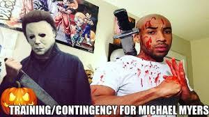 training to beat michael myers youtube