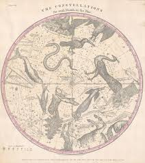 Constellations Map File 1856 Burritt Huntington Map Of The Stars Constellations