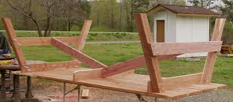 attaching legs to a table how to build a picnic table and 6 benches
