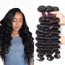 pics of loose wave hair usheen hair brazilian virgin hair loose wave 3 bundles grade 7a