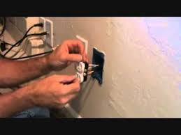 installing a duplex receptacle youtube