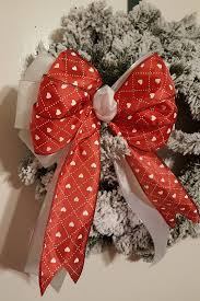 large gift bow tree topper bow valentines bow wreath bow large gift bow