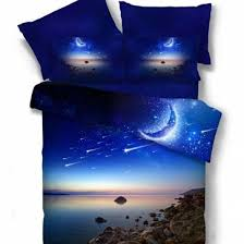 Stars Duvet Cover Moon And Stars Bedding Shop Galaxy Duvet Cover With Pillow Cases