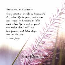 Love Lasts Forever Quotes by Every Situation In Life Is Temporary By Jenni Young